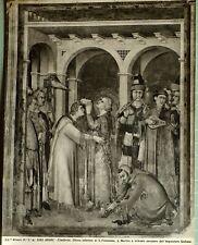 C1900 Alinari Original Foto Gelatine Silber Assisi No. 5292 Firenze