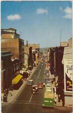 Quebec City St. John Street East Quebec PQ - Chrome Used 1956? - Good