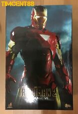 Ready! Hot Toys MMS132 Iron Man 2 - Mark VI 6 Tony Stark Robert Downey Jr 1/6