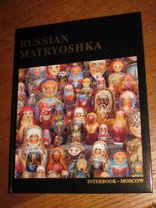 Russian DOLL MATRYOSHKA hard cover Genuine BOOK ENGLISH UNIQUE Collectors GIFT