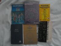 SIX (6) books on  ASTROLOGY