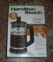 Hamilton Beach French Press with Cocoa Attachment