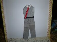 Kens Doll One Piece Top / Pants With Tie