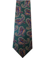 LIBERTY OF LONDON TIE, Paisley Print, 100% Pure Silk Tie, Made in the USA