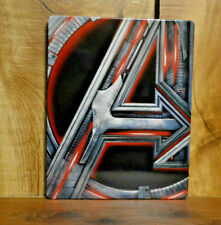 Avengers: Age of Ultron Steelbook 4k UHD and Blu-ray
