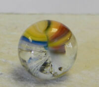 #12976m Vintage Akro Agate Sparkler Marble .61 Inches