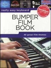 Really Easy Keyboard Bumper Film Book Sheet Music Aladdin Frozen Spectre ET