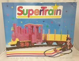 Eco Playtrain Super Train / Vintage Spielzeug Eisenbahn Set / sealed in Ovp 1994