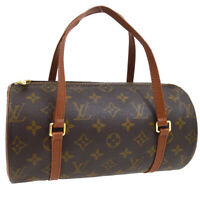 LOUIS VUITTON PAPILLON 26 HAND BAG MONOGRAM CANVAS M51366 NO0998 PURSE 03255
