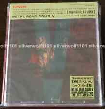 METAL GEAR SOLID V ORIGINAL SOUNDTRACK The Lost Tapes Limited Edition + Cassette