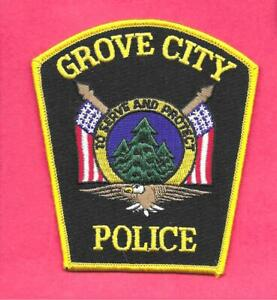 PENNSYLVANIA - BOROUGH OF GROVE CITY POLICE DEPT-  MERCER COUNTY