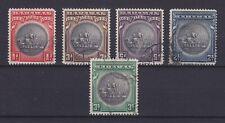 BAHAMAS 1930, SG 126-130 / 150,- £