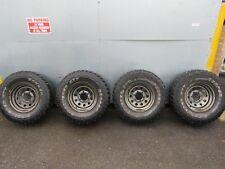 Mitsubishi Delica L400 2.8 steel wheels + Cooper discoverer STT Tyres 31 x 10.50