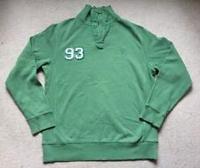 Crew Clothing Green Sweatshirt Jumper Medium