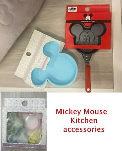 Primark Disney Mickey Mouse Pan Silicone Cake Tin Cookie Cutter Disney Kitchen