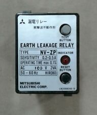 Mitsubishi NV-ZP Earth Leakage Relay with bases #025A11