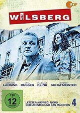 Wilsberg 4 - Letzter Ausweg Mord / Der Minister und das Mädchen DVD NEU OVP
