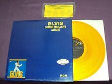 ELVIS COMMEMORATIVE ALBUM - ELVIS PRESLEY - 2 LP'S - GOLD FOIL STICKER -GATEFOLD
