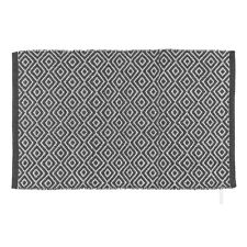 Wenko Badteppich Turpan Recycling Polyester 80x50cm anthrazit