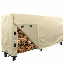 KHOMO GEAR - Heavy Duty Log Rack Cover - 8 Feet - Sahara Series - Beige
