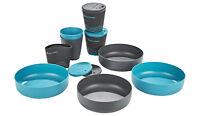 SEA TO SUMMIT DELTA-LIGHT CAMP SET 4.4 8-PIECE 4-PERSON DINING SET BPA FREE