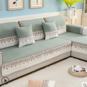 Non-slip Sofa Cover Protector Stretch Corner  Cushion Sofa Towel 1/2/3/4-seater