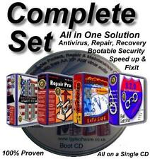ANTI VIRUS & System Cleaner with Free Updates for Life ~ Windows XP & Vista, 7/8