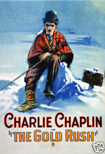 The gold rush Charlie Chaplin movie poster print
