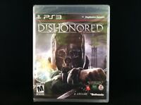 Dishonored  (Sony Playstation 3 PS3, 2012) BRAND NEW