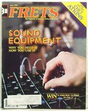 FRETS MAGAZINE SOUND EQUIPMENT CHET ATKINS MARGIE MIRKEN DAVID GRISMAN VERY RARE