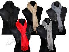 Unifarbene Damen-Schals aus Kaschmirmischung