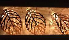 Order Home Collection String Lights Copper Color Leaves LED Battery 2 Sets Of 10