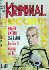 KRIMINAL N. 250 DEL 16.04.1970