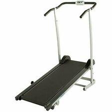 Treadmills Progear 190 Manual Treadmill Level Incline Twin Flywheels