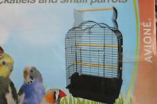 Cockatiel small parrot open roof arch bird cage w perch B1718 47 x 36 x 70cm