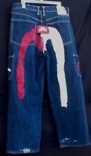 EVISU Heritage Logo jeans mens sz 38