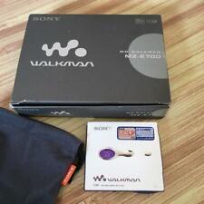 Sony MD Walkman MZ-E700 Minidisc Player MDLP White NEW F/S