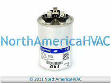 Goodman Amana Janitrol Capacitor Run Round 20/5 uf MFD 370 Volt CAP050200370RSS