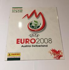 Complete sticker set Panini Euro Championship 2008 / 08 Mint condition