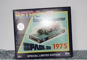 Space 1999 Retro Eagle Die-Cast Model Sixteen 12 - GREEN VERSION