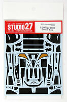 Studio27 ST27-CD20039 Type 102B Carbon Decal for Tamiya 1/20