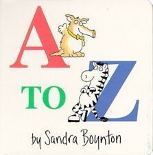 A to Z by Sandra Boynton, Good Book