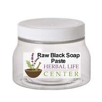 African Black Soap Paste Raw Organic Unrefined 8 OZ 16 OZ 32 OZ Free Shipping