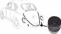 Volkswagen Beetle Arrière T1 Capot Moteur/porte/couvercle Bouchon en caoutchouc-Tampon