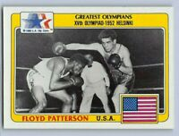 1983  FLOYD PATTERSON - Topps GREATEST OLYMPIANS Card # 77 - BOXING