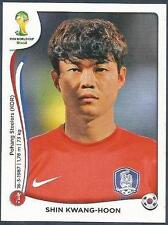 PANINI WORLD CUP 2014- #628-KOREA REPUBLIC-SOUTH KOREA-SHIN KWANG-HOON