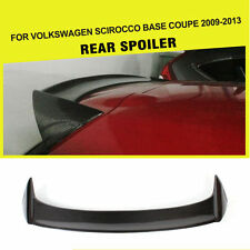 Carbon Fiber Roof Spoiler Rear Wing Lip Fit for Volkswagen VW Scirocco 2009-2013