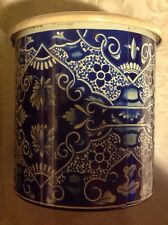 Vintage Round Tin COFFRET HOLLANDAIS Tin Container Made In Holland