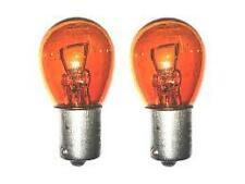 2x P21W BA15S 343 382 12v Ambra / Arancione Indicatore Luce Lampadine Auto (opposto PIN)