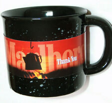 2001 Phillip Morris Inc. Black Speckled Marlboro Miles Thank You Cups Mugs NOS